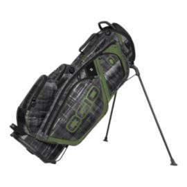 Ogio Silencer Stand Bag -  Paranormal Green