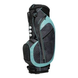 Ogio Women's Duchess Cart Bag - Polka Dot/Mint