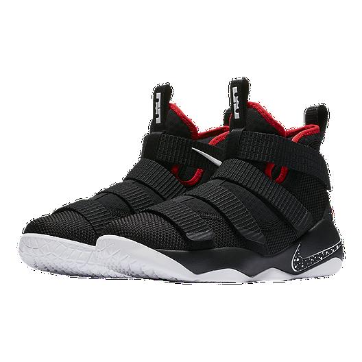 pretty nice 7eda6 c4a9c Nike Kids' Lebron Soldier XI Grade School Basketball Shoes ...