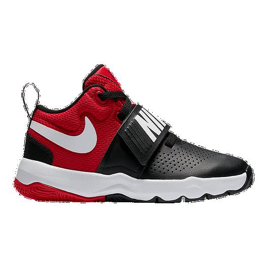 cheap for discount 634ff 125d4 Nike Kids  Team Hustle D 8 Preschool Shoes - Red Black   Sport Chek