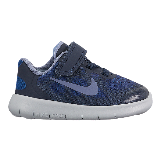 858adfa9db1c Nike Toddler Free RN 2017 Shoes - Blue Obsidian