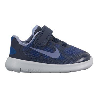 Nike Toddler Free RN 2017 Shoes - Blue/Obsidian