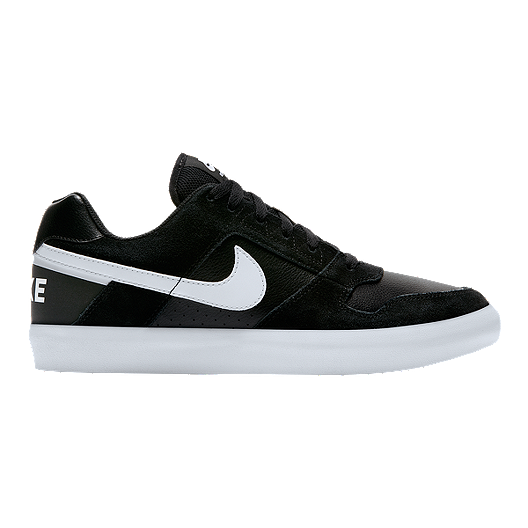 b88a4b60095834 Nike Men s SB Zoom Delta Force Skate Shoes - Black White