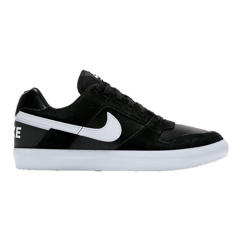 new products e0283 94721 Nike Men s SB Zoom Delta Force Skate Shoes - Black White