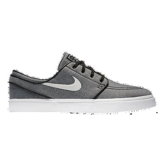 e4f47016 Nike Men's Stefan Janoski Canvas Skate Shoes - Black/Sail | Sport Chek