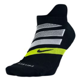 Nike Men's Performance Cushion No-Show Running Socks