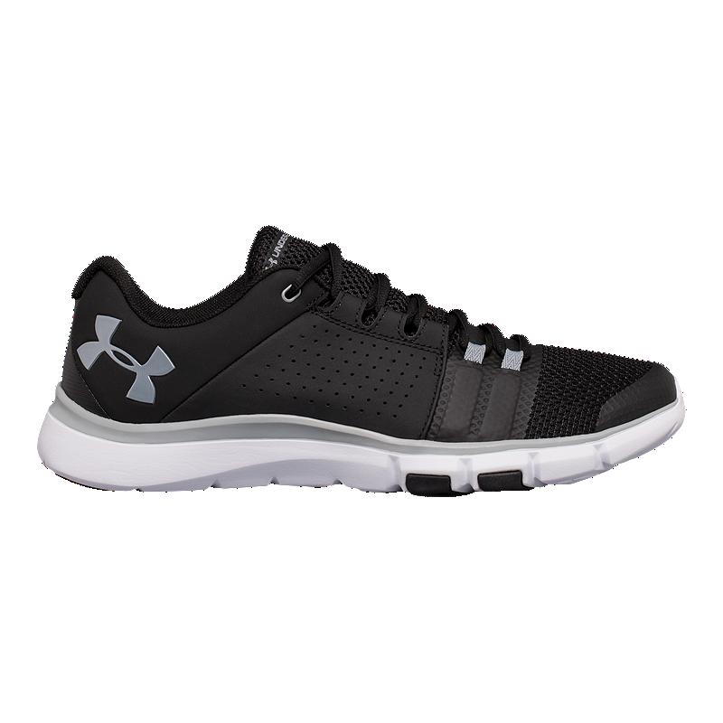 NEW! Under Armour Men's Strive 7 Training Shoes BlkGryWht #1295778 01 202CD tz