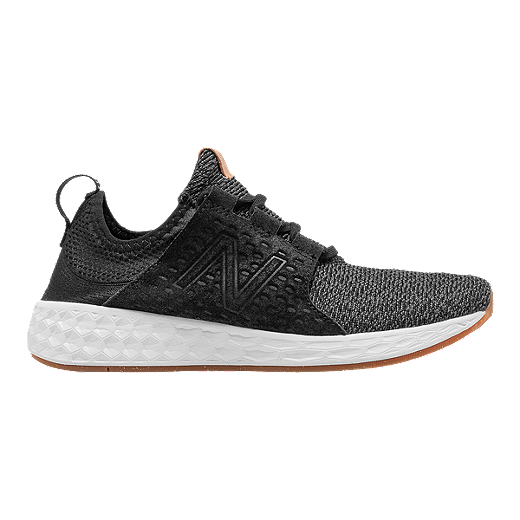 e501f80a9 New Balance Women s Fresh Foam Cruz Running Shoes - Black Grey - BLACK SEA