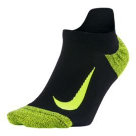 Nike Men's Elite Wool Lightweight No Show Running Socks