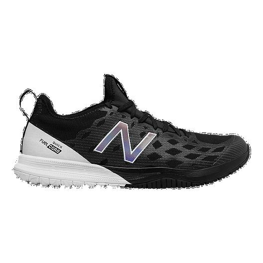 8b71a0219a6 New Balance Men s Fuel Core Quick v3 Training Shoes - Black White ...