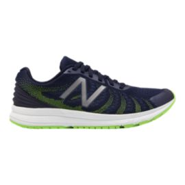 New Balance Men's FuelCore Rush v3 Running Shoes - Navy/Lime