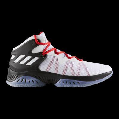 adidas uomini 'esplosivo bounce nero / bianco / grigio, scarpe da basket