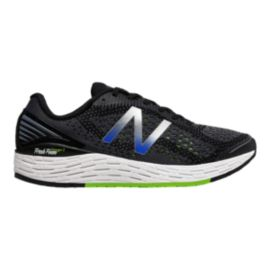 New Balance Men's Fresh Foam Vongo v2 2E Wide Width Running Shoes - Black/Lime