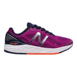 New Balance Women's Fresh Foam Vongo v2 Running Shoes - Purple/Orange