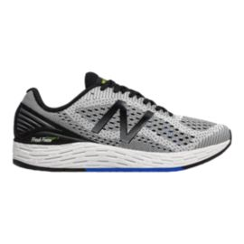 New Balance Men's Fresh Foam Vongo v2 Running Shoes - White/Blue