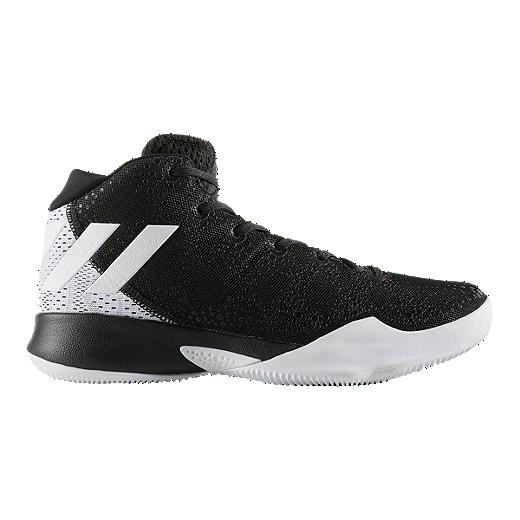 6b72098eaf1a adidas Women s Crazy Heat Basketball Shoes - Black White - CORE BLACK FTWR  WHITE