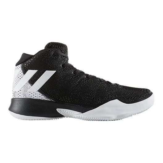 9a6b2f097c46 adidas Women s Crazy Heat Basketball Shoes - Black White