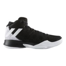 adidas Women s Crazy Heat Basketball Shoes - Black White  0edc17e7e0