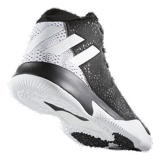 b74ccc65ffc3 adidas Women s Crazy Heat Basketball Shoes - Black White. (3). View  Description