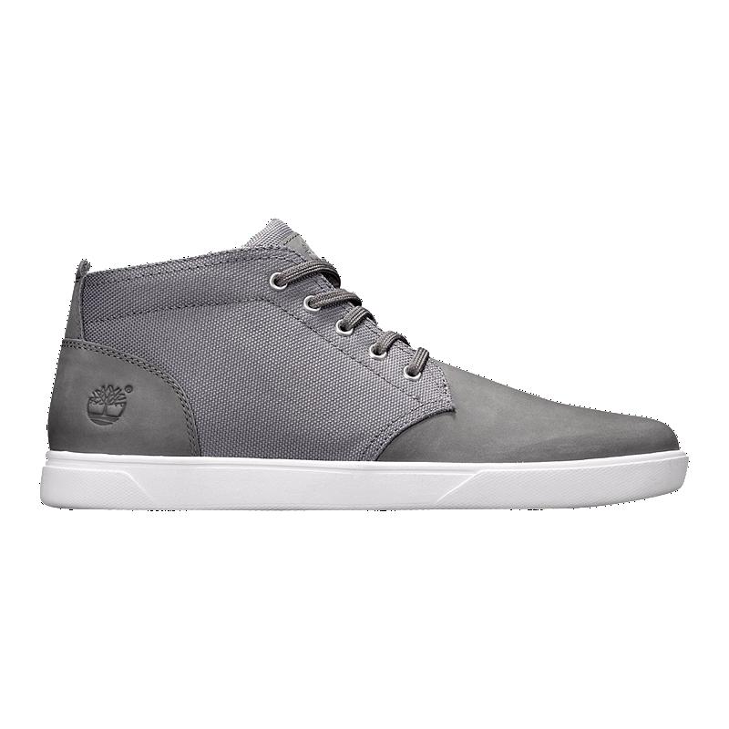 78d8349a53a Timberland Men s Groveton Chukka Med Shoes - Grey Cord
