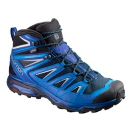 Salomon Men's X Ultra 3 Mid GTX Hiking Boots - Navy/Indigo