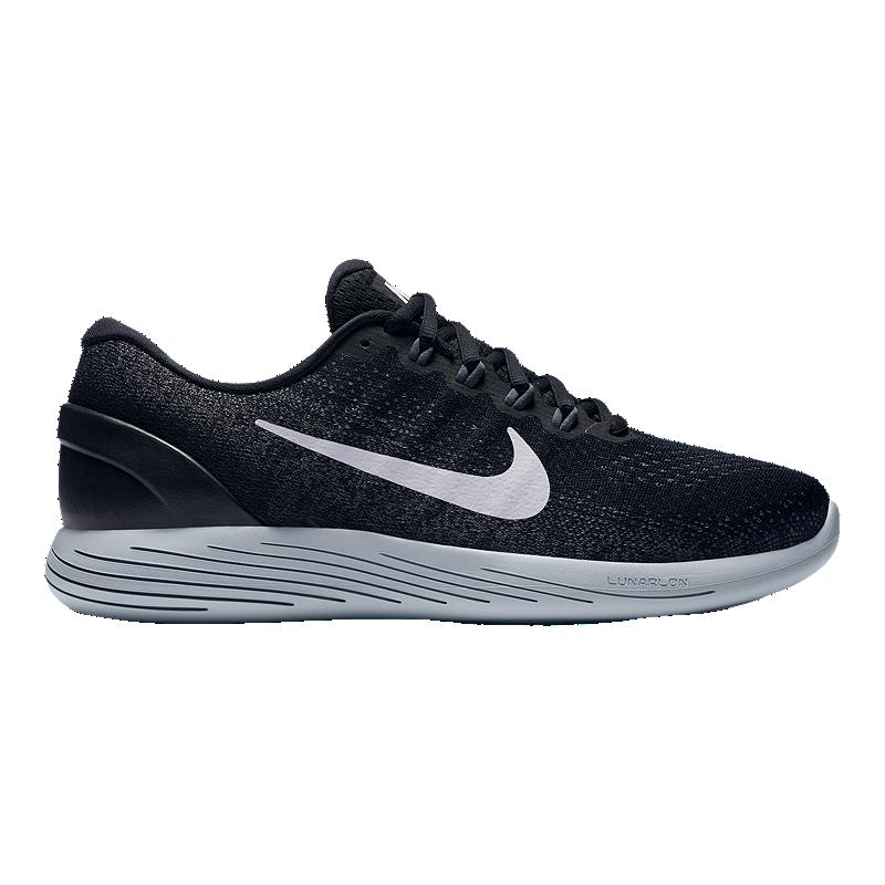 timeless design 435a3 7d18a Nike Men s LunarGlide 9 Running Shoes - Black White   Sport Chek