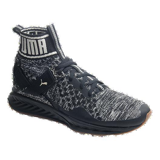 new concept 6bd09 767a5 PUMA Men's Ignite evoKNIT Hypernature Shoes - Black/White