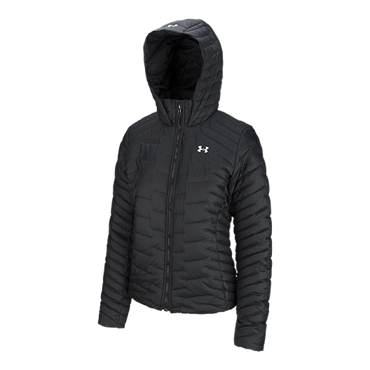 d63a68c9c40 Under Armour Women's Cold Gear Reactor Insulated Hooded Jacket ...