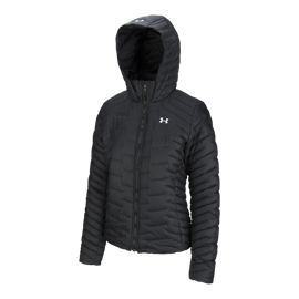 Under Armour Women's Cold Gear Reactor Insulated Hooded Jacket