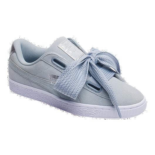 buy online 10e59 2ca85 PUMA Women's Suede Heart Safari Shoes - Quarry