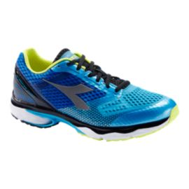 Diadora Men's N6100-4 Running Shoes - Blue/Silver/White