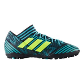 Adidas Mens Nemeziz 173 Indoor Turf Soccer Shoes Bluegreen