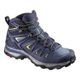 Salomon Women's X Ultra 3 Mid GTX Hiking Boots - Blue