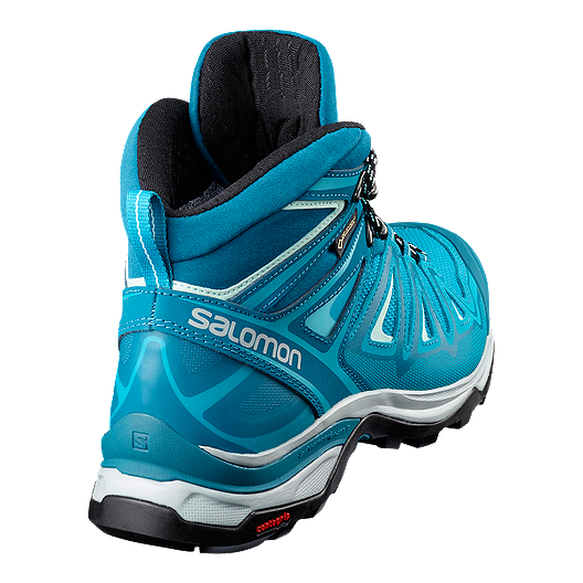 best service 456ec 9fbe8 Salomon Women's X Ultra 3 Mid GTX Hiking Boots - Lagoon/Blue