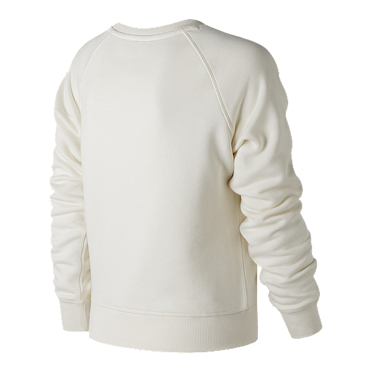 d18dbb0f14ef8 View Description. New Balance Women's Essentials Track Club Crew Long  Sleeve Shirt - ANGORA