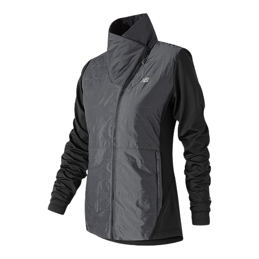 1b45af5fda701 New Balance Women's Asymetrical Cold Weather Jacket | Sport Chek