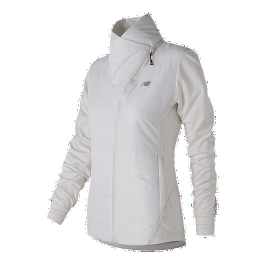 1b45af5fda701 New Balance Women's Asymetrical Cold Weather Jacket | Sport Chek