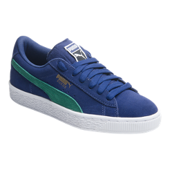 PUMA Kids  Suede Grade School Shoes - Blue Green  b6e2a758e