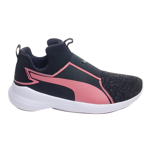 Girls' School Puma Mid Rebel Grade Shoes Blackrose iOZuwPkTX