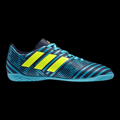 Adidas Kids' nemeziz Indoor Soccer zapatos AZUL / AMARILLO / Black