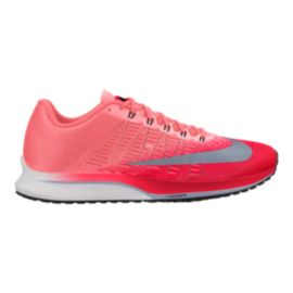 Nike Women's Air Zoom Elite 9 Running Shoes - Red/Grey/Black