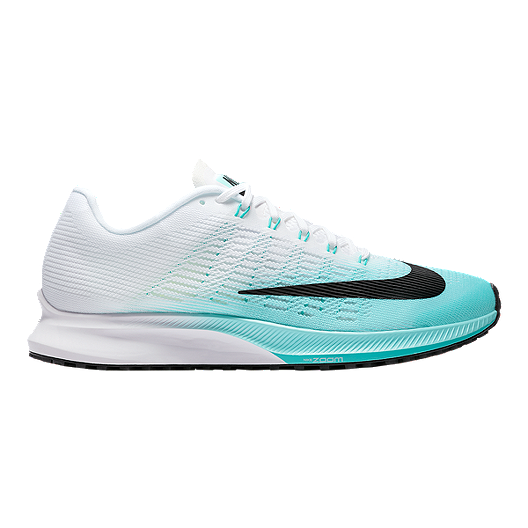 802b120747304 Nike Women s Air Zoom Elite 9 Running Shoes - Teal Green White Black ...