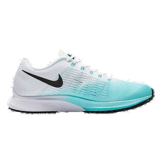 9714bda1dda0c Nike Women s Air Zoom Elite 9 Running Shoes - Teal Green White Black ...