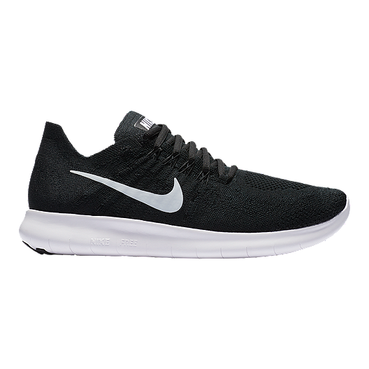 sports shoes a0457 0b12d Nike Women s Free RN Flyknit 2017 Running Shoes - Black White   Sport Chek