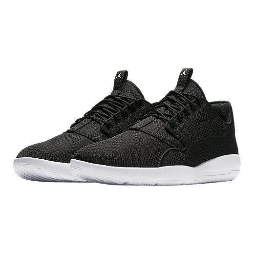 Nike Men's Jordan Eclipse Basketball Shoes - Black/White | Sport Chek