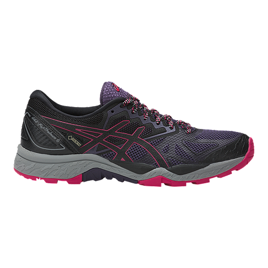 a4ea9396ed4 ASICS Women's Gel Fujitrabuco 6 GTX Trail Running Shoes - Black/Purple/Red  | Sport Chek