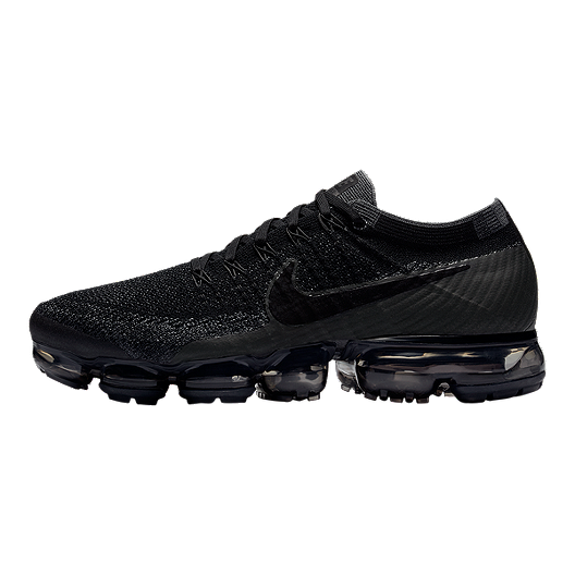 ddda1ee1fcca Nike Men s Air VaporMax FlyKnit Running Shoes - Black Dark Grey. (1). View  Description