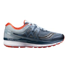 Saucony Men's Everun Hurrican ISO 3 Running Shoes - Blue/Black/Red