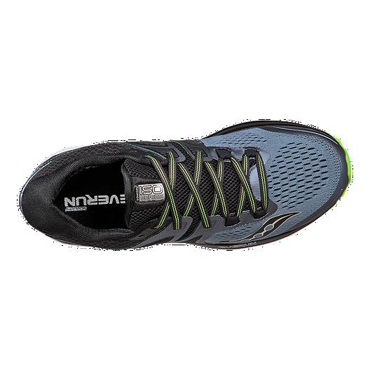 vendita più calda goditi il prezzo più basso più economico Saucony Men's Everun Triumph ISO 3 Running Shoes - Grey/Black/Green