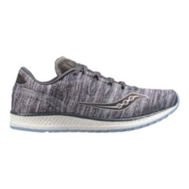 Saucony Men's Everun Freedom ISO Running Shoes - Heather Chrome Grey